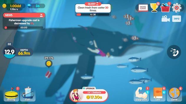 9 Schermata Dream Blue Ocean