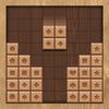 hout blok bij elkaar passen-icoon