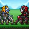 Monster Verteidigung König Zeichen