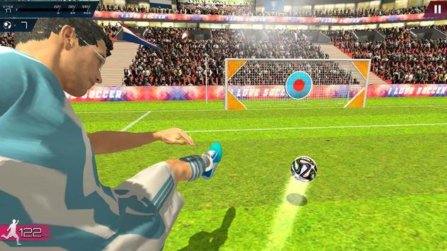 Soccer Championship-Freekick screenshot 14