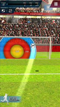 Soccer Championship-Freekick screenshot 1