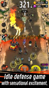 Zombie Defense King تصوير الشاشة 16