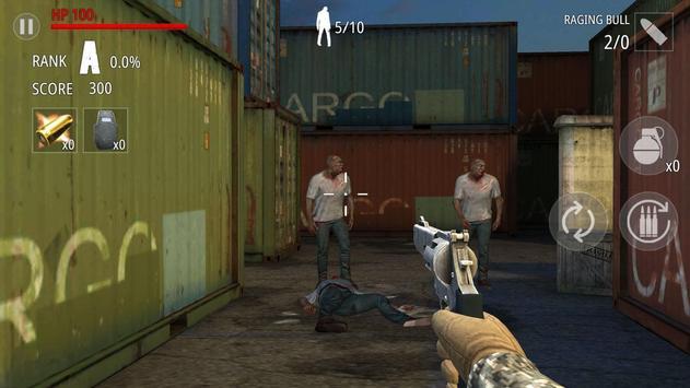 Zombi Disparo : FPS captura de pantalla 3