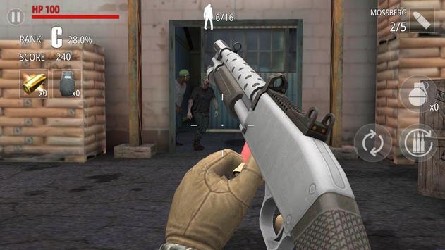 Zombi Disparo : FPS captura de pantalla 10