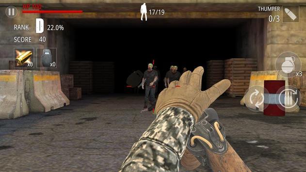 Zombi Disparo : FPS captura de pantalla 1