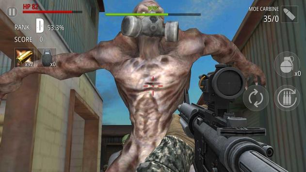 Zombi Disparo : FPS captura de pantalla 4