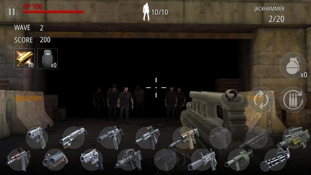 Zombi Disparo : FPS captura de pantalla 5
