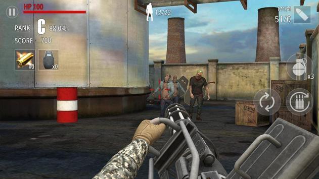 Zombi Disparo : FPS captura de pantalla 8