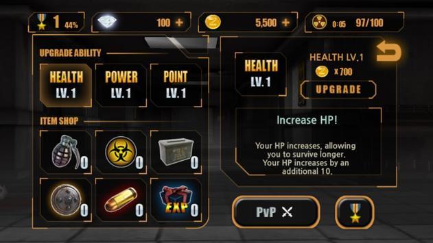 Zombie Hunter King ảnh chụp màn hình 9