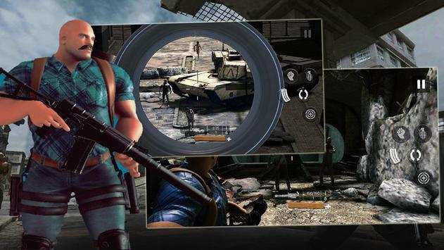 Zombie Gunfire تصوير الشاشة 1