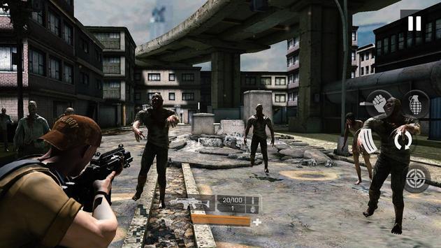 Zombie Gunfire تصوير الشاشة 8