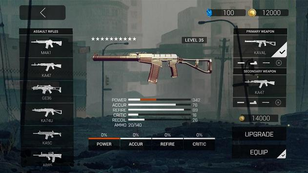 Zombie Gunfire تصوير الشاشة 9
