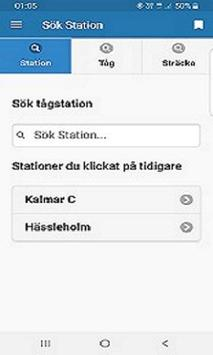 Tåg Info - För oss inom Järnvägen screenshot 2