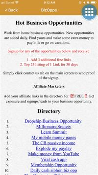 Hot Business Opportunities screenshot 2