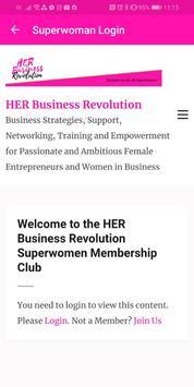 HER Business Revolution screenshot 4