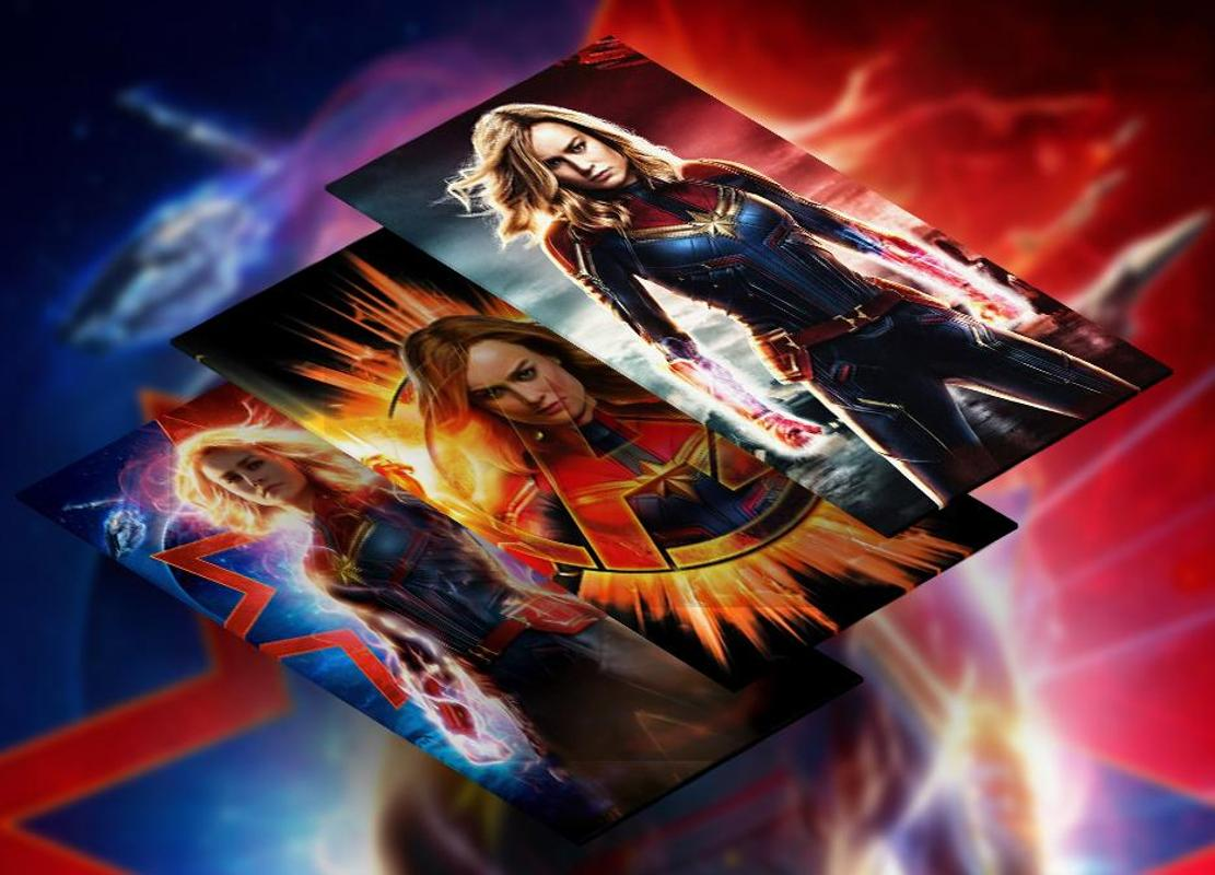 Captain Marvel 2019 Hd Wallpaper For Android Apk Download