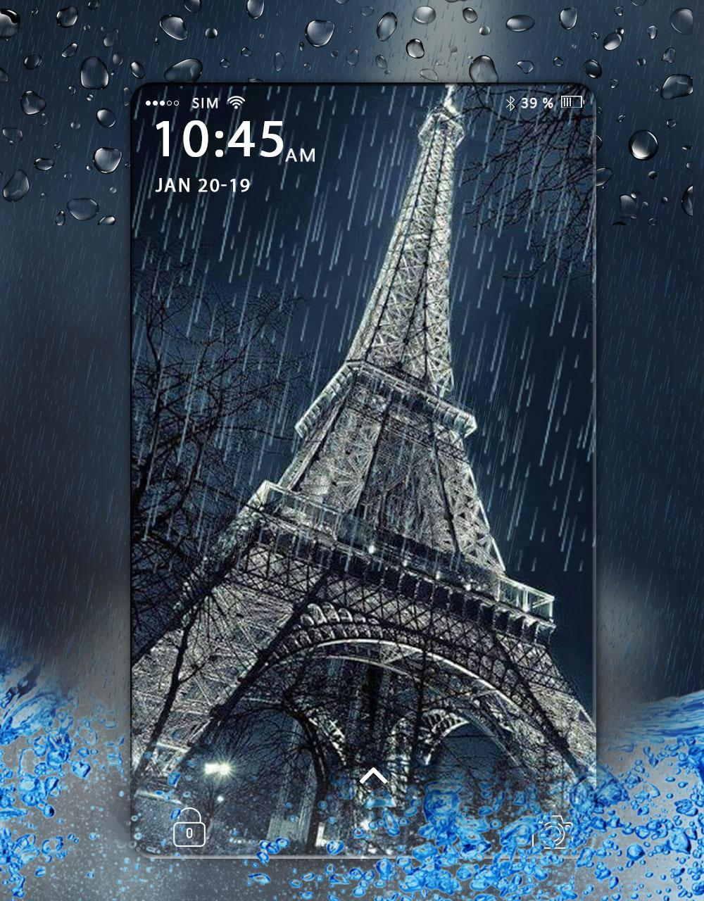 Rain Live Wallpaper Hd Realistic Water Drop Effect For Android