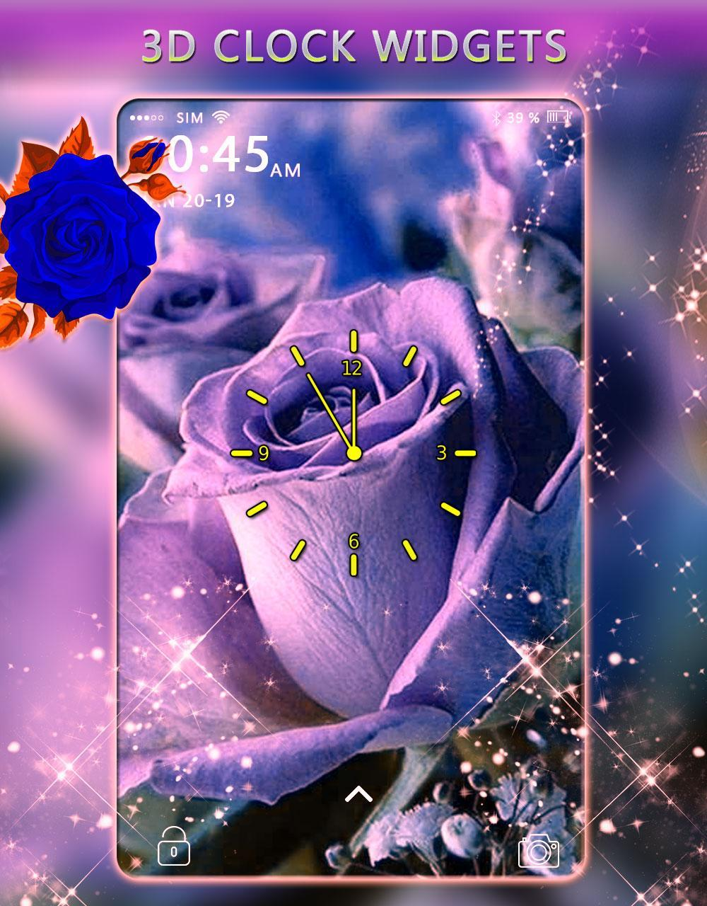 Roses Live Wallpaper-Animated Roses Themes Live for Android