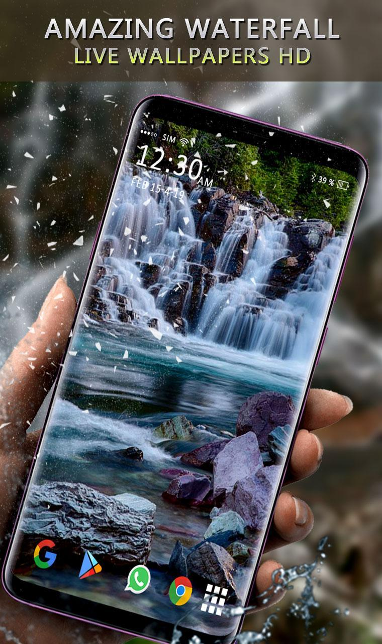 Waterfall Live Wallpaper 3d Moving Backgrounds For Android Apk