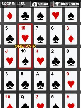 Slide Poker FREE screenshot 1
