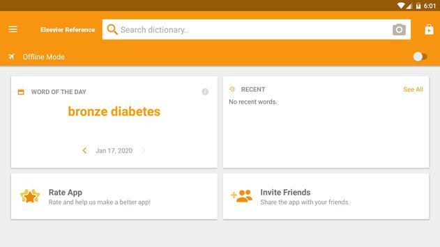 Dorland's Medical Dictionary captura de pantalla 12