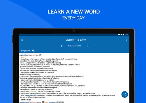 Oxford Dictionary of English screenshot 13