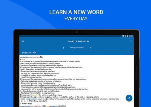 Oxford Dictionary of English screenshot 21