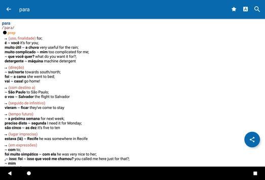 Oxford Portuguese Dictionary screenshot 17