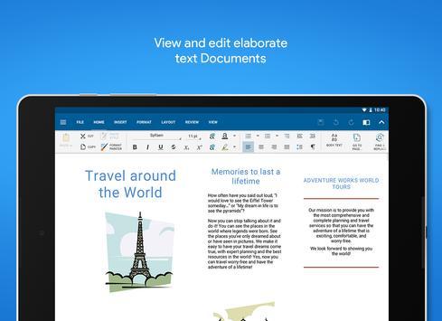 OfficeSuite تصوير الشاشة 8