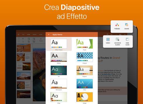 9 Schermata OfficeSuite
