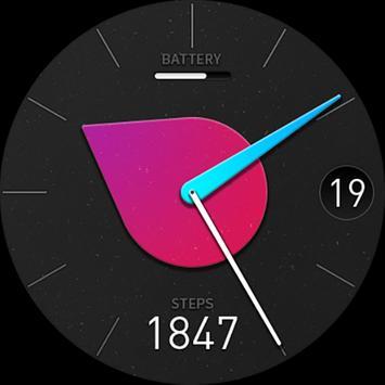 Steck(Watchface For Wear OS) screenshot 1