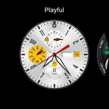 Playboy(Watchface For Wear OS) screenshot 1