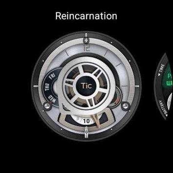 Reincarnation(Watchface For Wear OS) screenshot 1