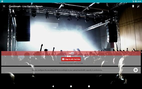 CamStream - Live Camera Streaming تصوير الشاشة 10