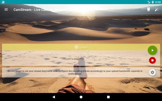 CamStream - Live Camera Streaming تصوير الشاشة 23