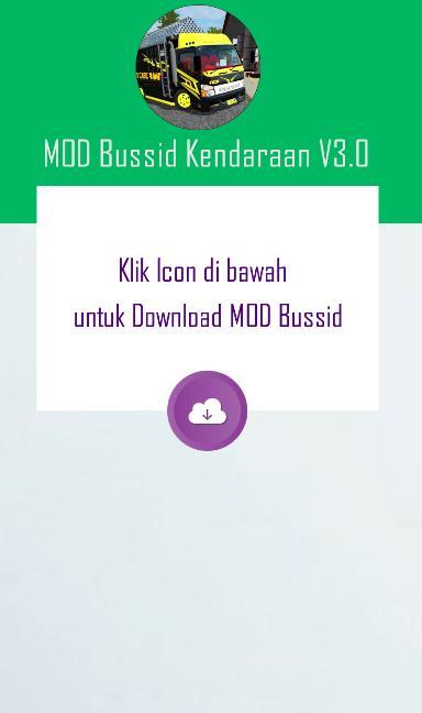 Aplikasi pou Mod Kendaraan Bussid V 3.0