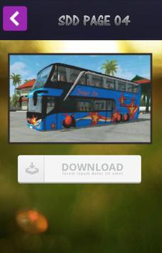 Mod Bussid SDD poster