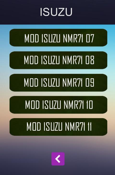 Apk android terbaru MOD Bussid Isuzu NMR71