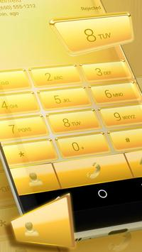 Gold Dialer Theme poster