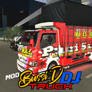 Mod bussid truk canter dj mino APK Android