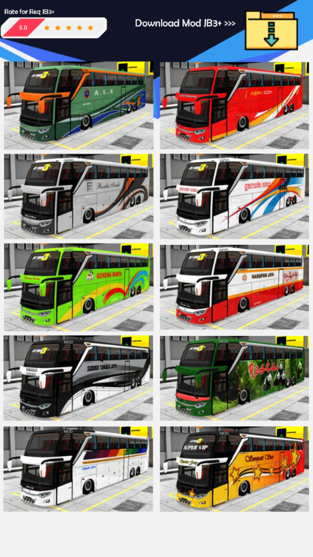 Bussid Mod Bus Jetbus 3 For Android Apk Download