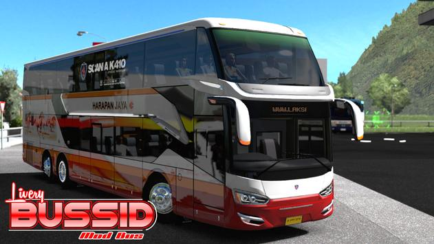 Livery Bussid Mod Bus poster