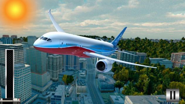 American Airplane Free Flight: Simulator Game 2019 screenshot 1