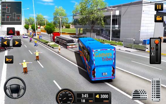 Bus Driver 21 - New Coach Driving Simulator Games screenshot 1