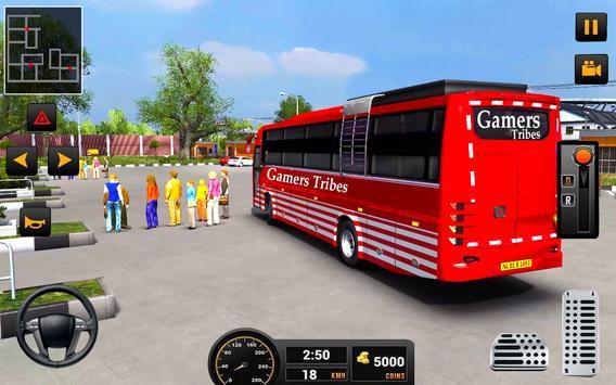 Bus Driver 21 - New Coach Driving Simulator Games screenshot 2