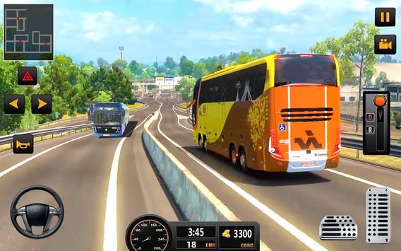 Bus Driver 21 - New Coach Driving Simulator Games screenshot 4