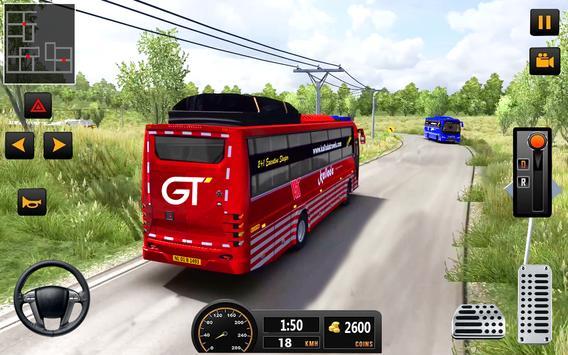 Bus Driver 21 - New Coach Driving Simulator Games screenshot 5