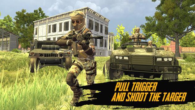 Modern FPS Battleground jungle Strike Game poster