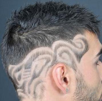 modern hairstyles men poster