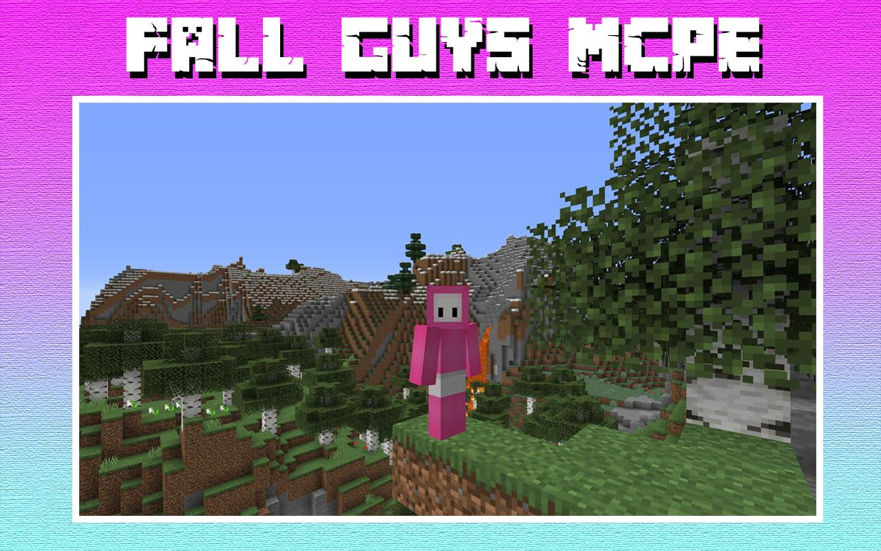 Maps Fall Guys Minecraft 11 for Android - APK Download